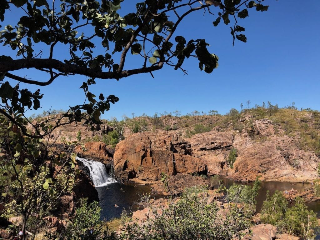 Upper Pool from Leliyn Trail, Leliyn (Edith Falls)