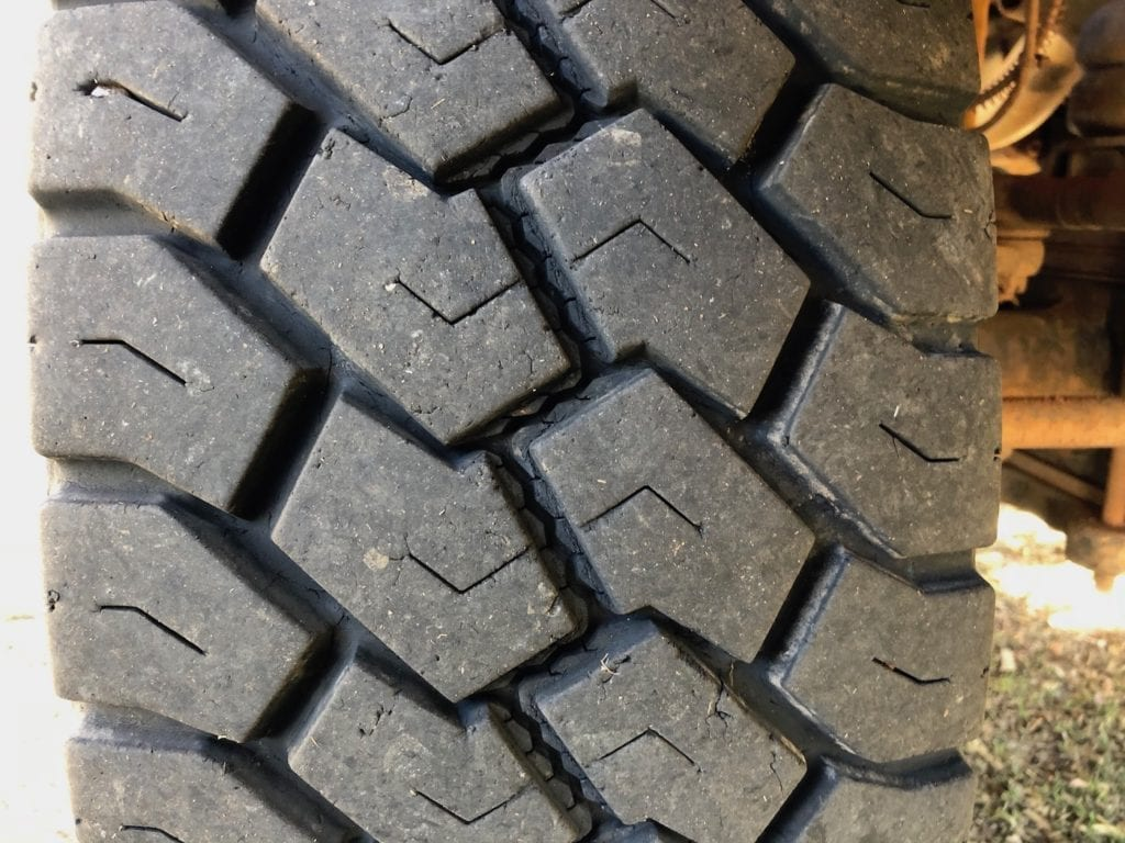Right front tyre wear. Toyo Tyres Review.
