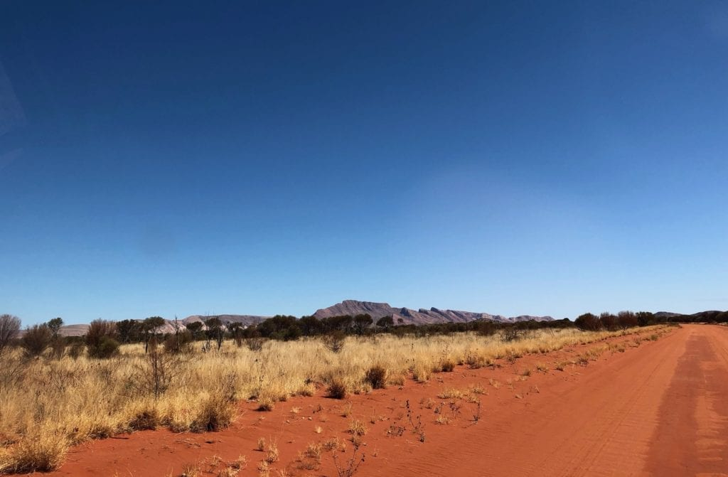 The extraordinary Mt Liebig, Gary Junction Road.