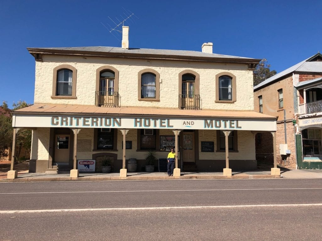 The Criterion Hotel, Quorn SA.