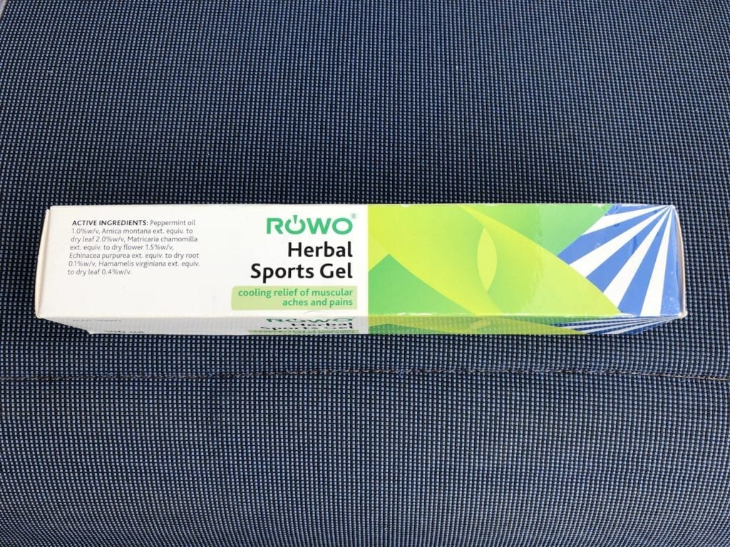 We use Rowo Herbal Sports Gel for muscle pain, bites and stings.