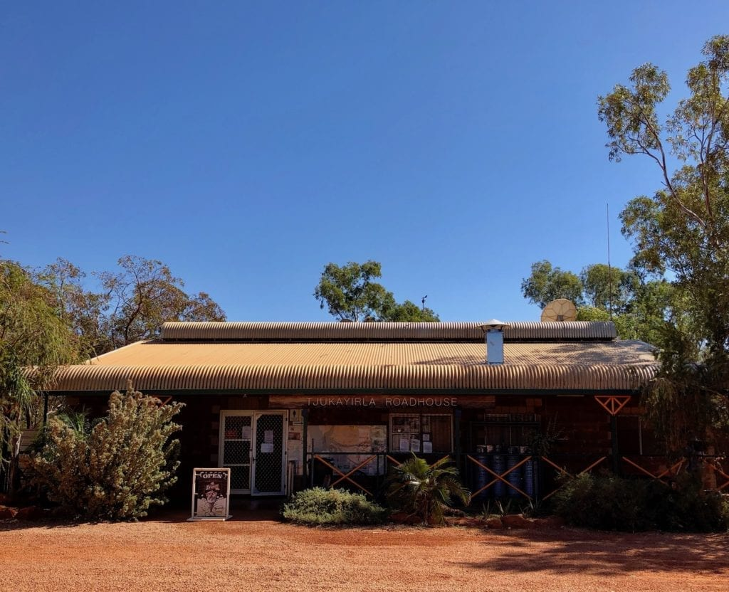 Tjukayirla Roadhouse, Great Central Road.