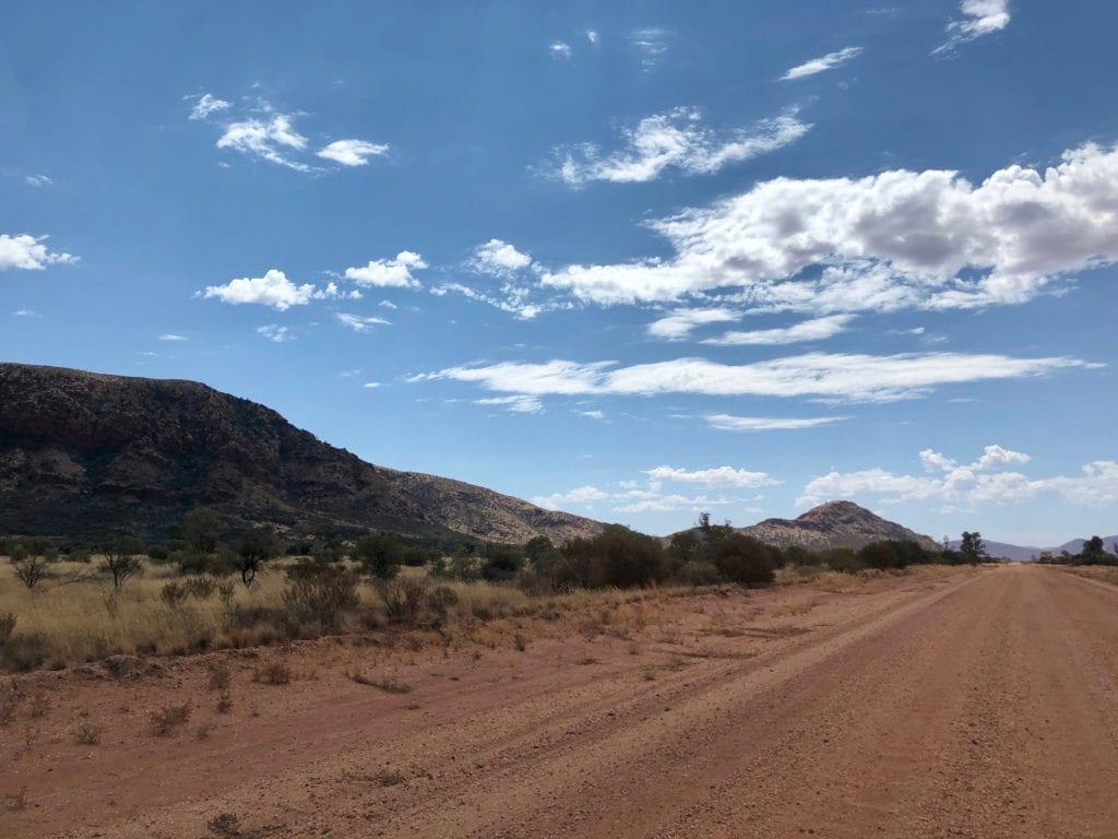 The Rawlinson Ranges. Great Central Road, Great Victoria Desert.