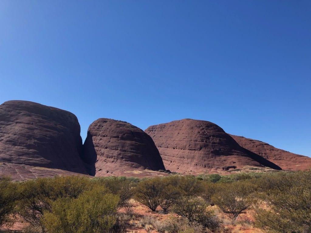 The domes of Kata Tjuta.