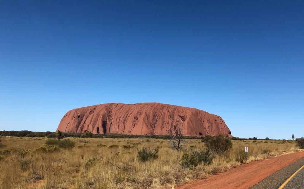 Approaching Uluru, it appears to rise out of the desert. What Is Uluru?