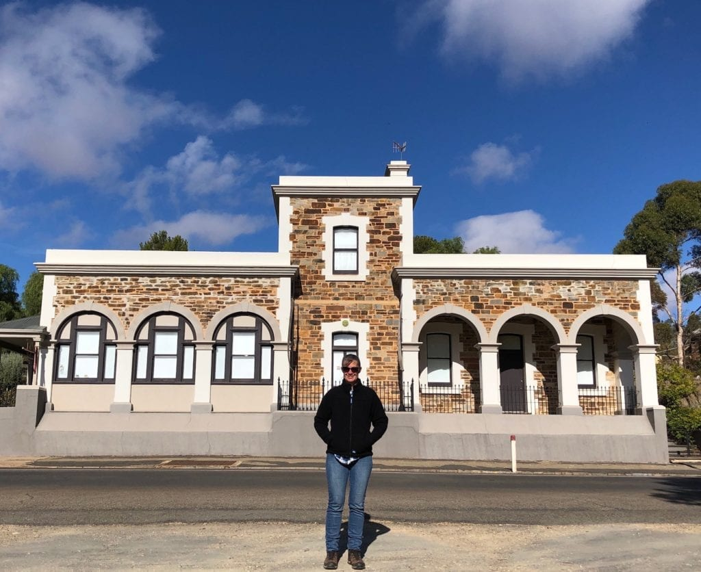 The former telegraph station and post office in Burra, from where John McDouall Stuart sent a telegram in 1862 to the SA Governor informing him of his successful north-south crossing of Australia.