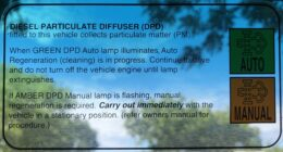 How Often Do I Need To Do A Manual Particulate Filter Burn, Isuzu NPS?
