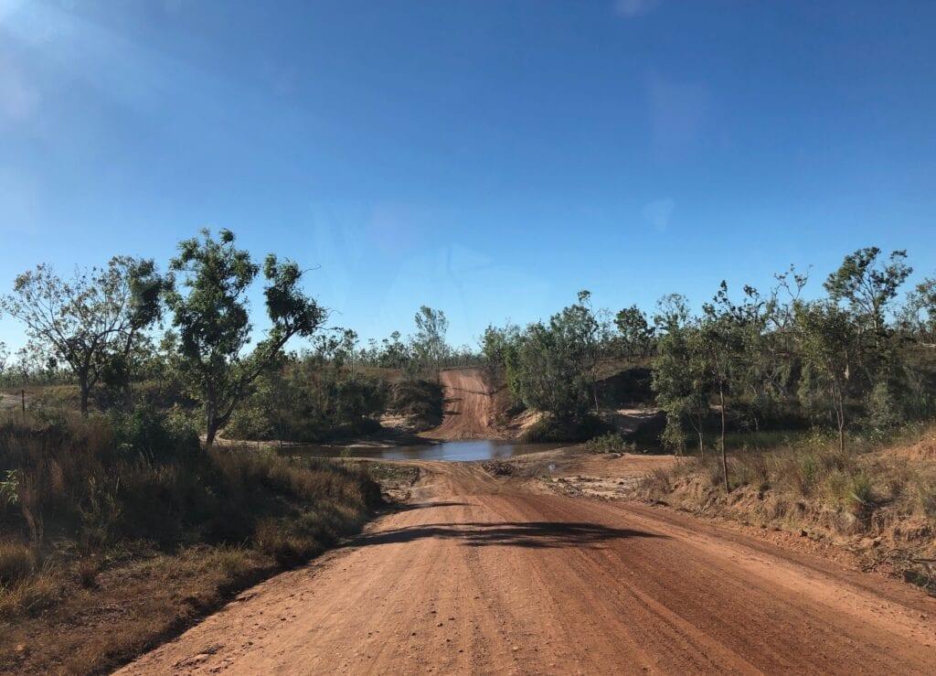 Foelsche River crossing on the Carpentaria Highway. Between Borroloola NT and Hells Gate QLD.