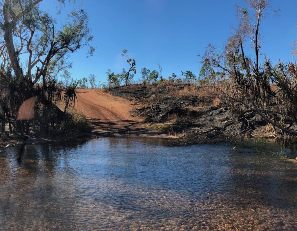 Robinson River crossing on the Carpentaria Highway. Between Borroloola NT and Hells Gate QLD.